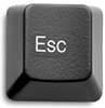 Клавиша Esc